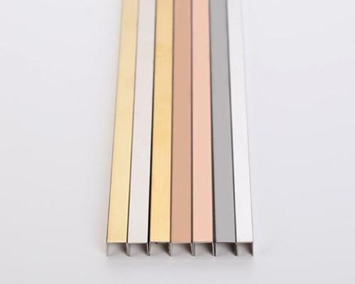 黑钛不锈钢3角线条