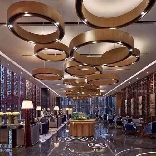 酒店不锈钢屏风案例